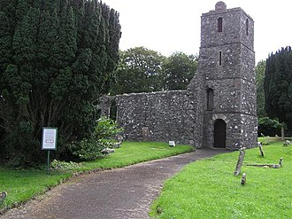 Maghera - The old St Lurach's Church