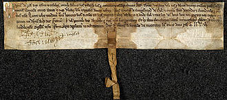 Magnús Óláfsson - Magnús' surviving 1256 charter.