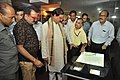 Mahesh Sharma And Prabhas Kumar Singh Watching Interactive Digital Books - NDL - NCSM - Kolkata 2017-07-11 3528.JPG