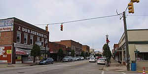 Benson, North Carolina - Downtown Benson
