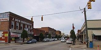 Benson, North Carolina - Downtown Benson