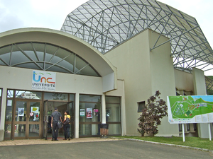 Main building at Nouville campus, University of New Caledonia