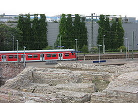 S8 at station Mainz Roman Theatre