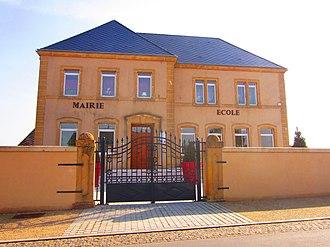 Basse-Rentgen - The town hall in Basse-Rentgen