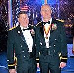 Maj. Gen. Palzer and Brig. Gen. Elwell dine on the Battleship Iowa 170304-A-VA095-116.jpg