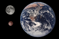 Makemake, Earth & Moon size comparison.png