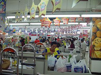 Carrefour - Carrefour Hypermarket in Jakarta, Indonesia
