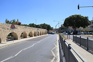 Fleur-de-Lys, Malta - Wignacourt Aqueduct at Fleur-de-Lys