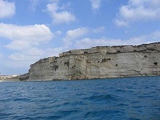 Fort Delimara - Fort Delimara from Marsaxlokk Bay