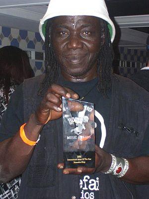 Mamadou Diop (musician) - Mamadou Diop at the 2011 Boston Music Award ceremony