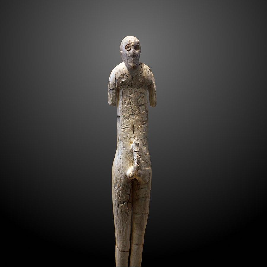 Ithyphallic figure-E 27457