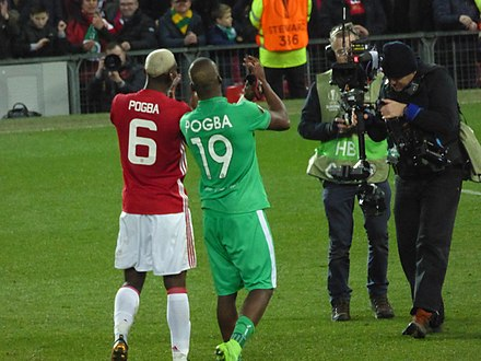 0b98f6c7182cc2 Brothers Paul and Florentin Pogba played against each other in 2017.