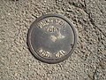 Manhole cover Pinkerton Foundry Lodi California.jpg