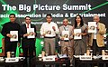 Manish Tewari releasing the India Entertainment and Media Outlook 2013 at the inauguration of the CII Big Picture summit, in New Delhi on September 13, 2013.jpg