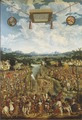 Manlius Torquatus Fighting a Gaul (Ludwig Refinger) - Nationalmuseum - 17246.tif