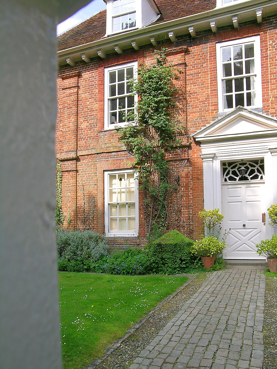 Manor House Princes Risborough Bucks Door & pilasters