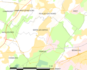 Map commune FR insee code 25542.png