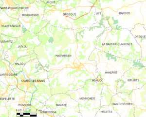 Map commune FR insee code 64256.png