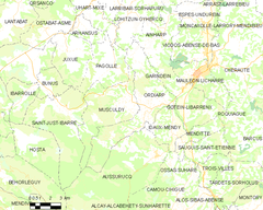 Map commune FR insee code 64424.png