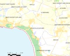 Longeville sur mer wikipedia la enciclopedia libre for Code postal longeville