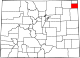 Map of Colorado highlighting Phillips County.svg