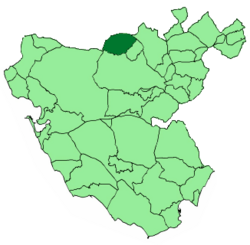 Location of Espera