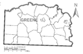 Map of Greene County, Pennsylvania No Text.png