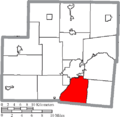 Map of Shelby County Ohio Highlighting Orange Township.png