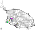 Map of religious buildings in Pompeii.png