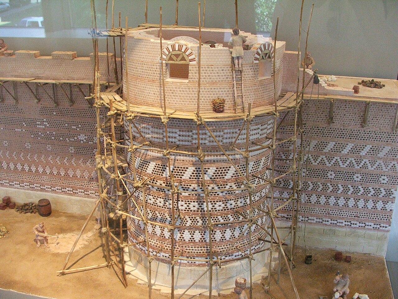 File maquette construction muraille du mans jpg wikimedia commons - Village de chine le mans ...