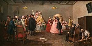 Italian Jews - Jewish wedding in Venice, 1780 Musée d'Art et d'Histoire du Judaïsme
