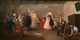 Jewish wedding - Jewish Wedding, Venice, 1780 Musée d'Art et d'Histoire du Judaïsme