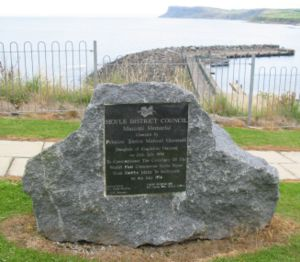 Ballycastle, County Antrim - The Marconi memorial