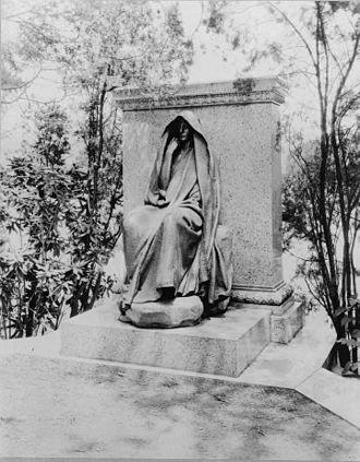 Marian Hooper Adams - Adams' monument in Rock Creek Cemetery