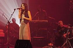 Mariana Aydar no Auditório Ibirapuera em 2007