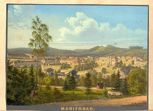 Marienbad,c 1855