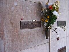 Marilyn Monroe crypt2