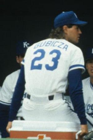 Mark Gubicza - Gubicza in 1991.