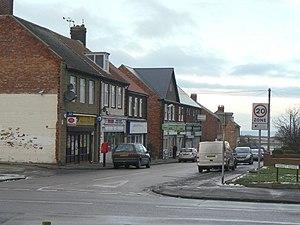 Lynemouth - Image: Market Square geograph.org.uk 1636492