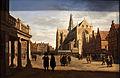 Marketplace in Haarlem-Gerrit Adriaensz Berckheyde-MBA Lyon B446-IMG 0427.jpg