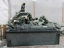 Marmot fountain in Switzerland crop.jpg