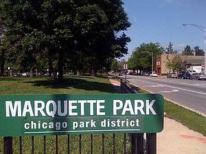 Marquette Park rallies - Marquette Park, Chicago, Illinois