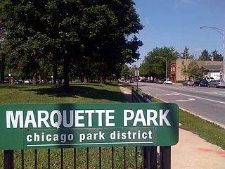 Marquette Park rallies