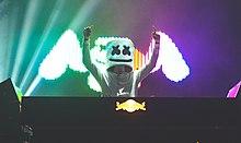 Marshmello in un'esibizione al VELD, 2016