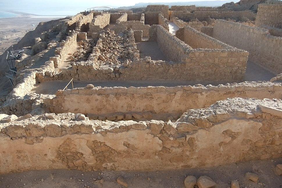 Masada storehouse - Ted Chi