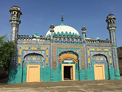 The Deen Muhammad Khan Mosque in Jampur