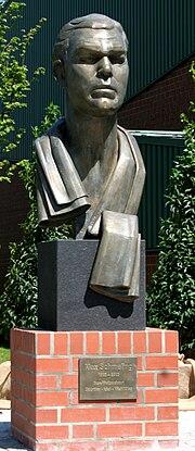 Max Schmeling Denkmal Bronze