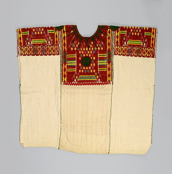 File:Maya. Woman's Blouse or Huipil, 2005.15.1.jpg