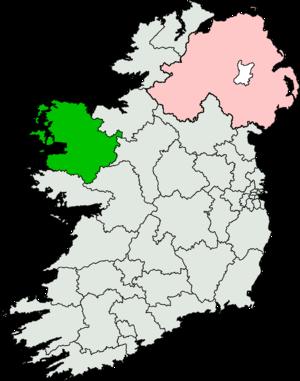 Mayo (Dáil Éireann constituency) - Image: Mayo (Dáil Éireann constituency)