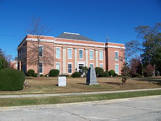 McDuffie County, Georgia - Image: Mc Duffie County Courthouse, Thomson, GA